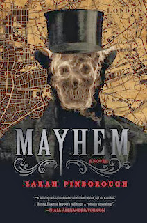 Mayhem, Sarah Pinborough cover