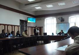 Aspect din timpul sesiunilor de comunicări, Zilele Universităţii, 28-29 octombrie 2011...