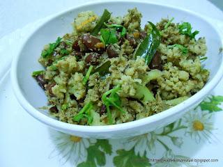 Cauliflower Rajma Masala Curry