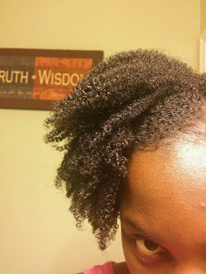 Wash and Go using U R Curly Tight Curl Enhancer on 4B 4C Natural Hair