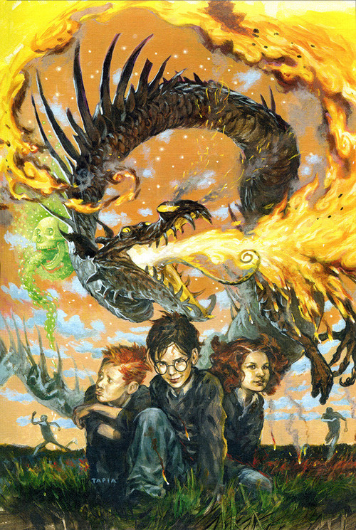 Cool Book Cover Art ~ The geeky nerfherder cool art harry potter cover