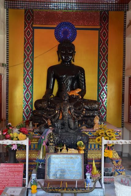 Wat Karon Phuket black buddha
