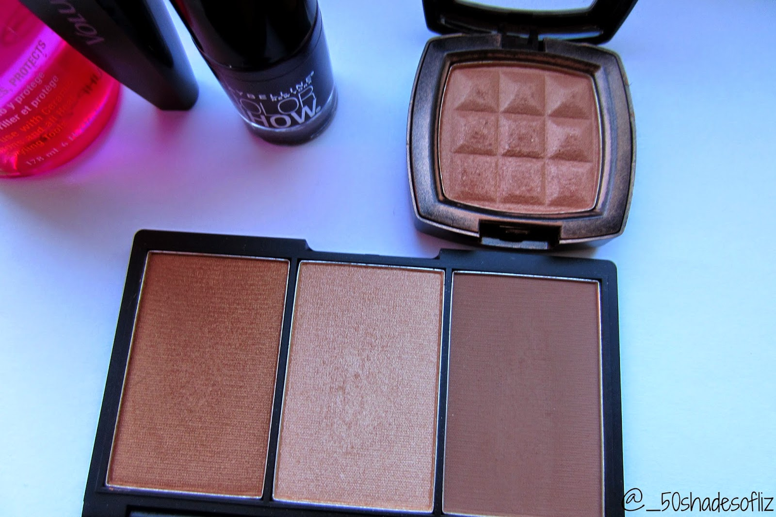 November 2014 favorites- Nyx blush terracotta and sleek face form kit