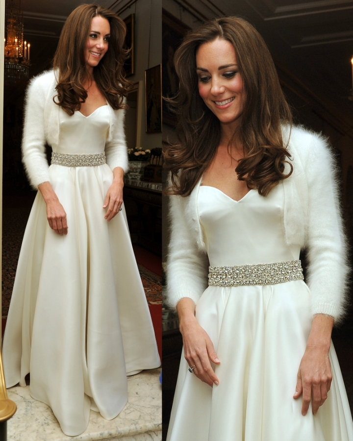 Blog Babble And Roll Kate Middletons Second Royal Wedding Dress For Reception