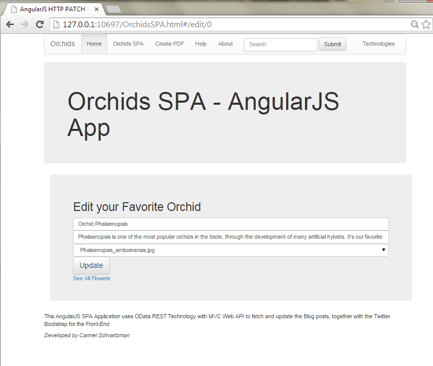 How to Design an AngularJS SPA with CRUD operations for OData RESTful Web API        17