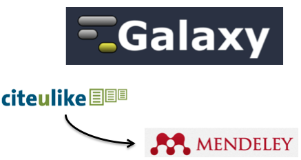 Galaxy Project Group on CiteULike and Mendeley