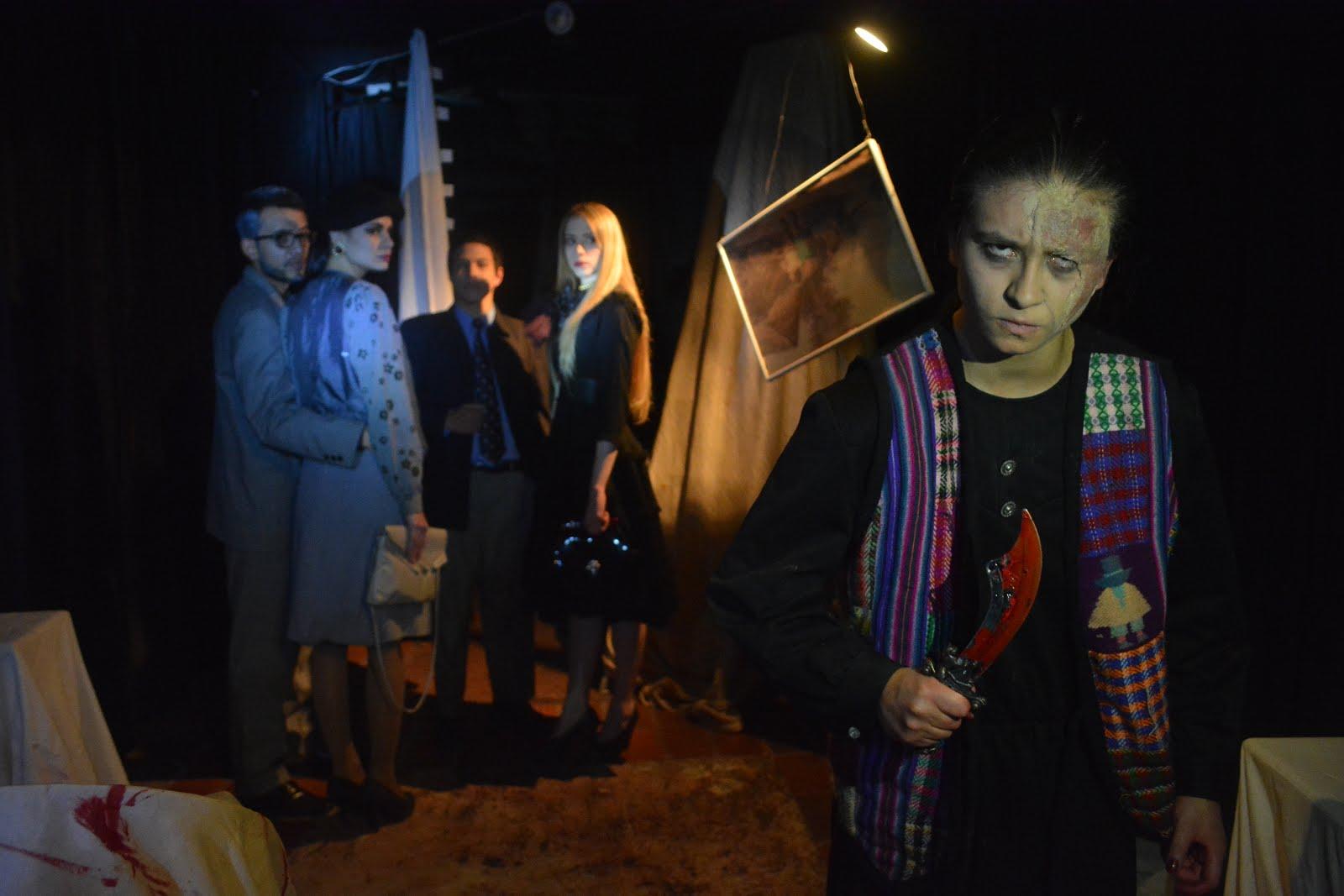 CARTAS DE SANGRE, Espectáculo Teatral de Terror 2015