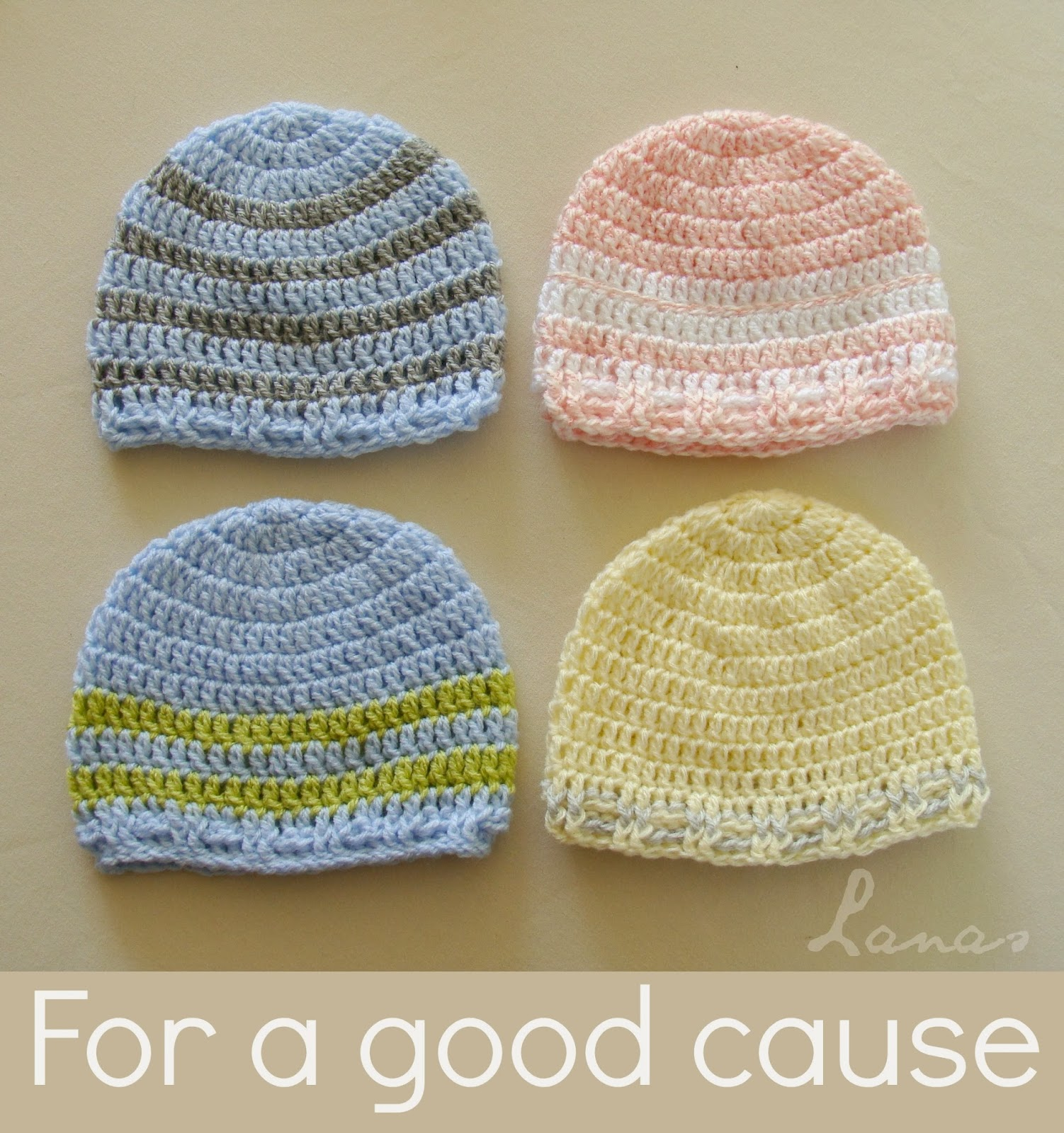 Crocheting For A Cause : Lanas de Ana: Crochet for a Good Cause