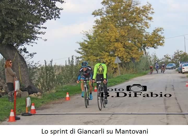 Cronoscalata Ripa Teatina: vittoria di Giancarli su Mantovani