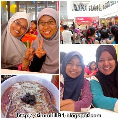 laksa sarawak, scr, summer mall