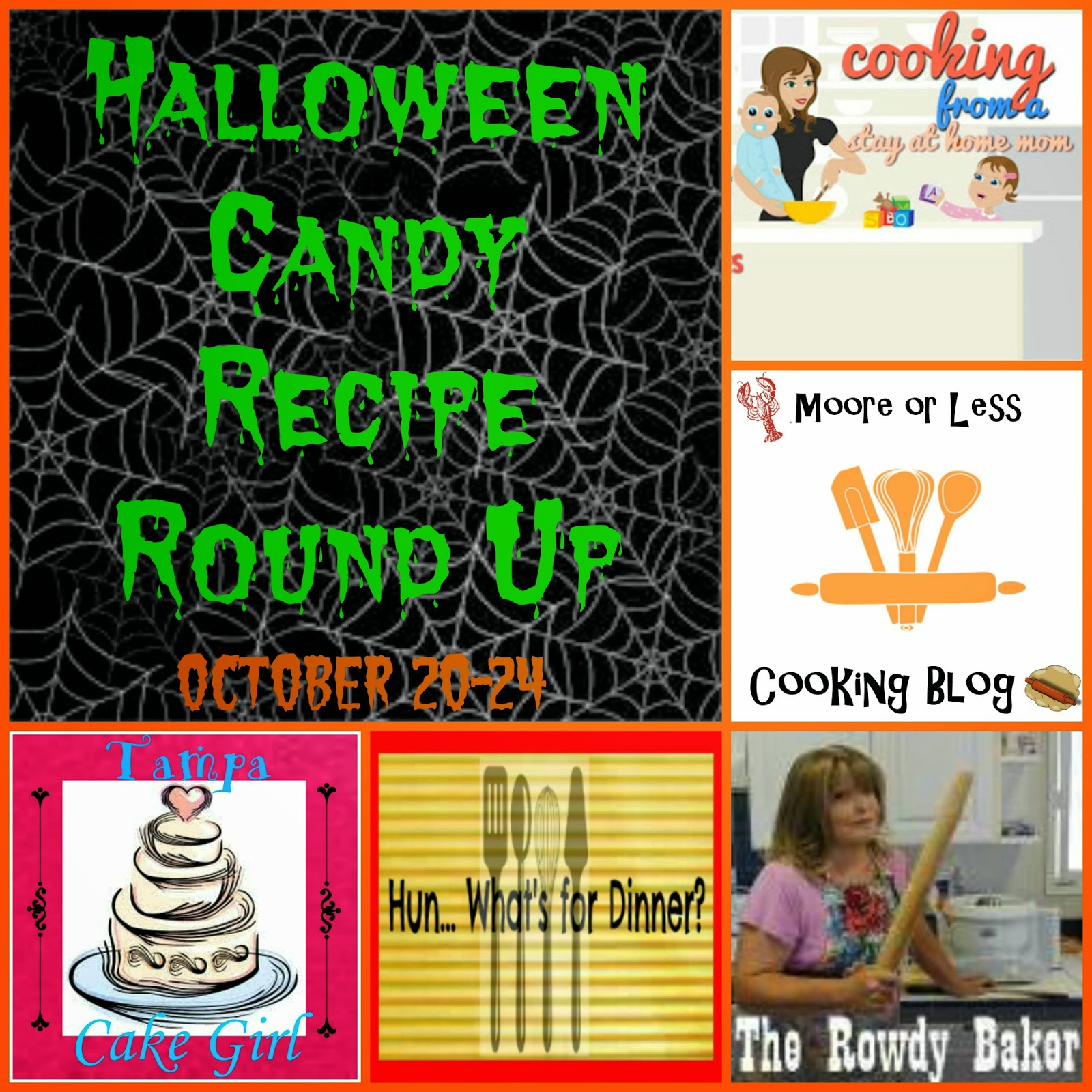 5 Blogs sharing 5 Halloween Candy Recipes