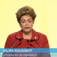 Dilma teve que sair correndo de Paris.