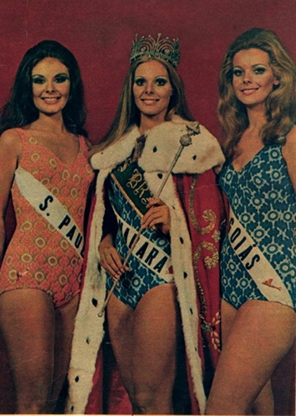 1970 - Top Tres Miss Universo Brasil