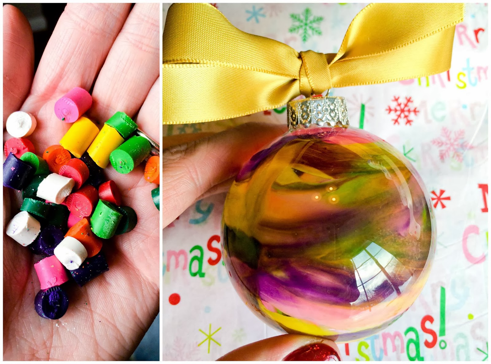 i love you more than carrots diy melted crayon glass bulb ornaments