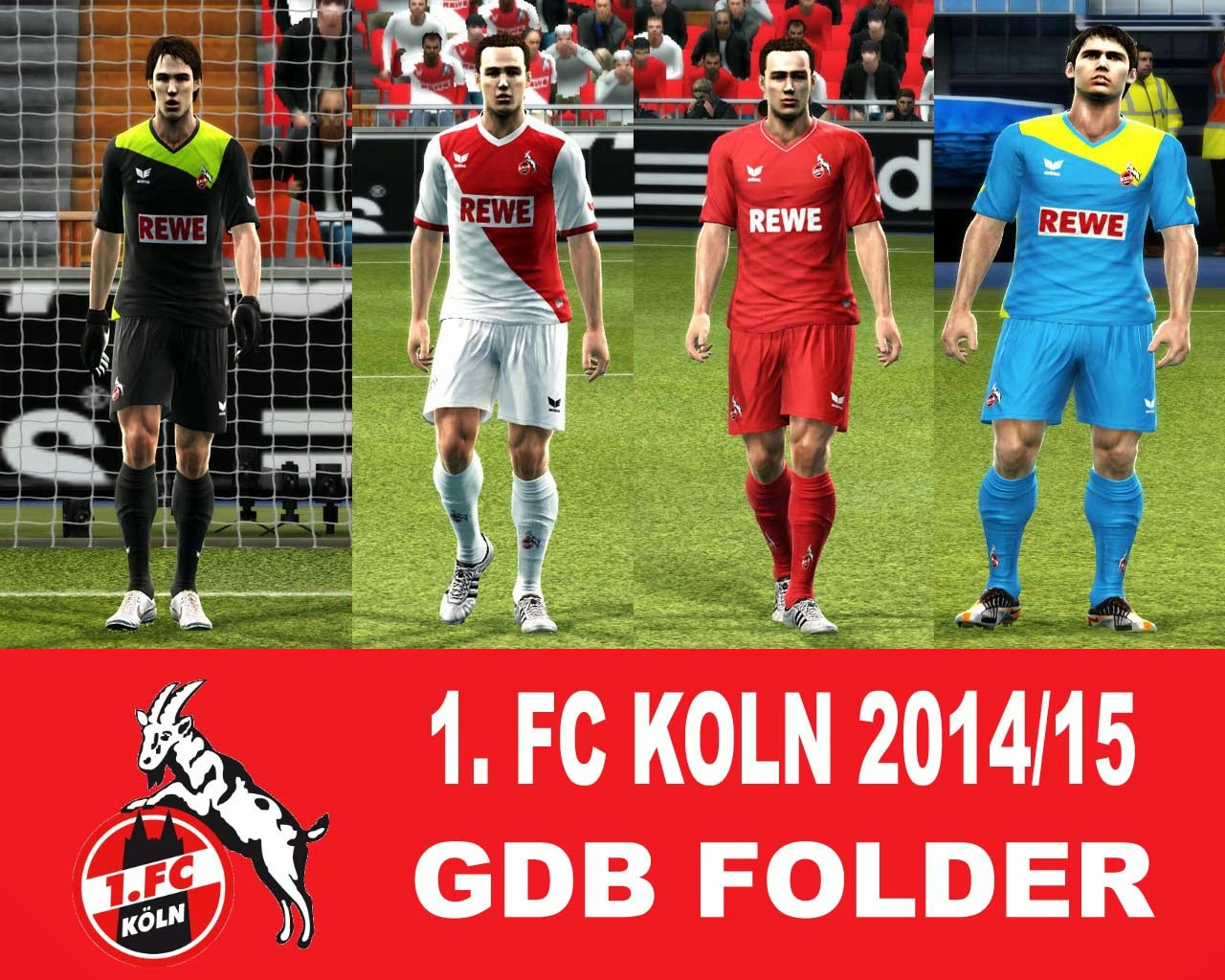 PES 2013 FC Koln 2014/15 GDB Kits by argyris