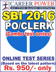 SBI 2016 COMBO TEST SERIES