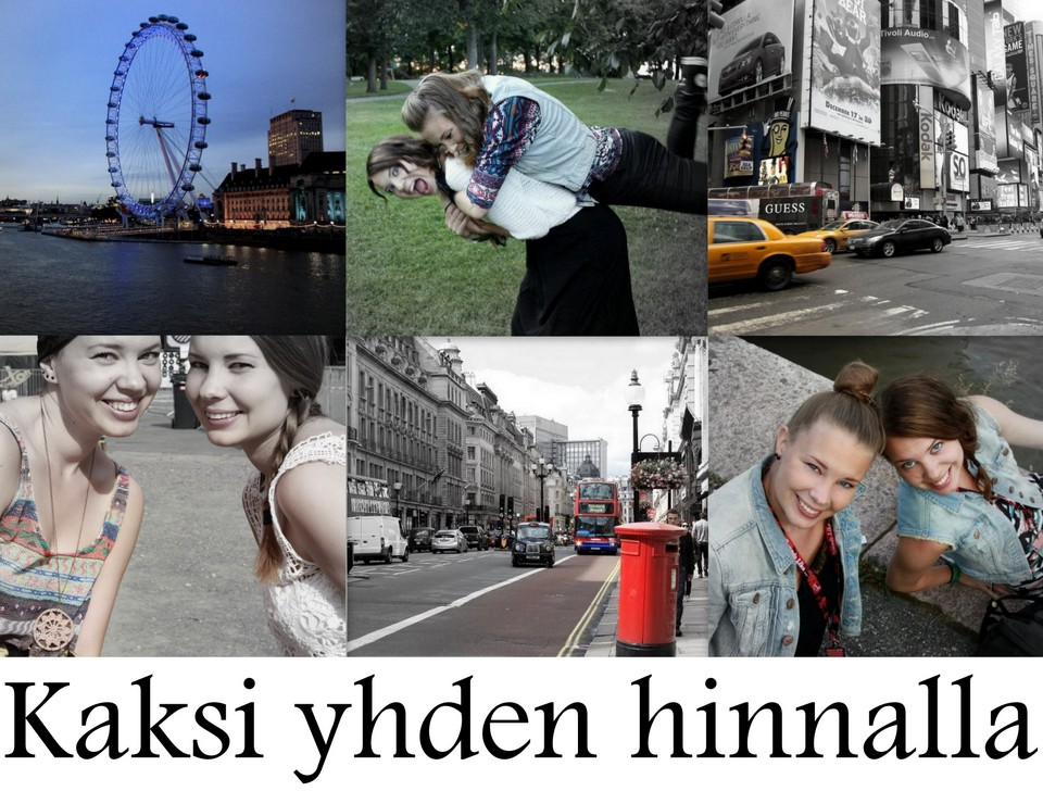 KAKSI YHDEN HINNALLA