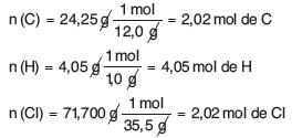 Numero de moles de los elementos ejercicio resuelto de formula empirica y molecular
