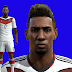 Jerome Boateng Pes 2013 Face and Hair with Tatto by AUSA92