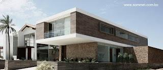 Residencia estilo Contemporáneo en Bolivia