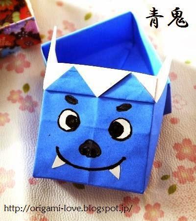 クリスマス 折り紙 豆入れ 折り紙 : origami-love.blogspot.com