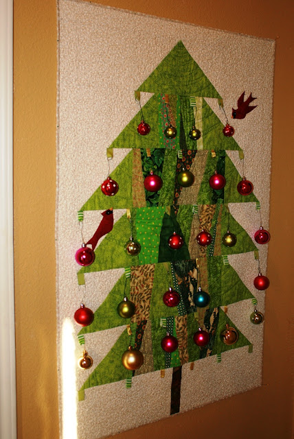 Buzzing and bumbling a christmas tree for a small space for Slender trees for small spaces