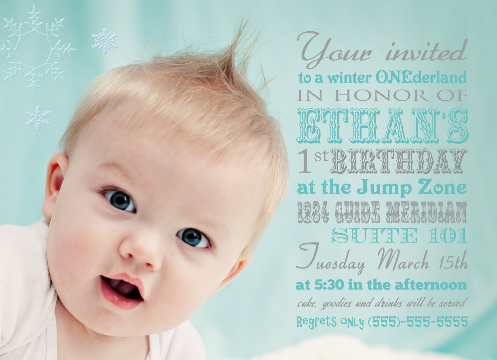 but it is also perfect if you have a boy as i mom of two boys i appreciate having fun and unique options - Winter Onederland Party Invitations