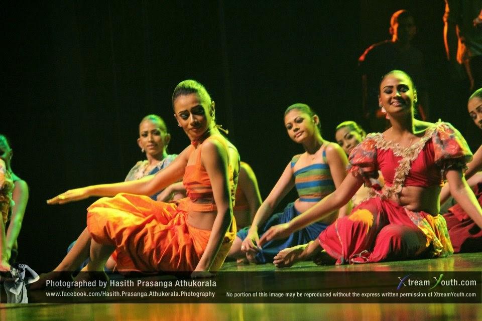 at Nelum Pokuna - Mahinda Rajapaksa Theatre