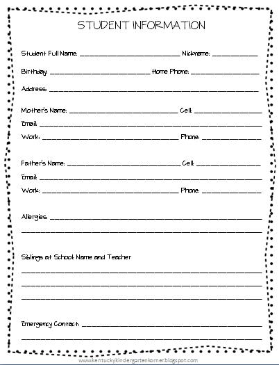Throwback Thursday | Kindergarten Korner