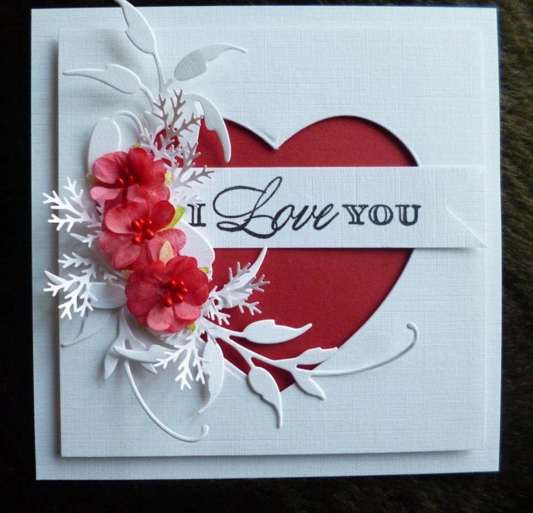 Handmade Valentine Cards – Make a Valentine Card