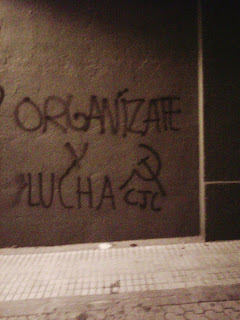 Agitación comunista en las calles de Salamanca.  IMG-20111025-00260