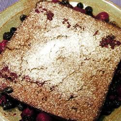 Gâteau complet raisin