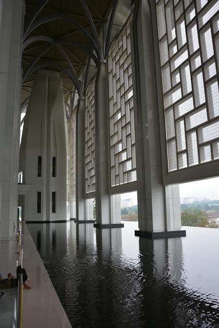 Steel Mosque Putrajaya water