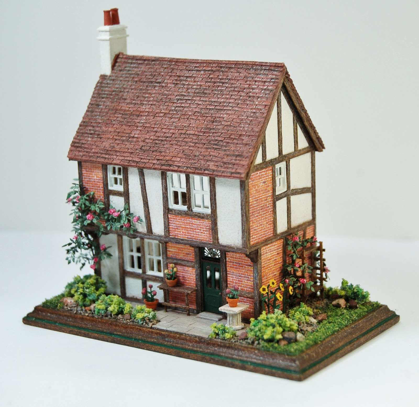 miniatures and shown pin garden cottages in then cottage miniature a you we the like make fairy houses ve did house stone collection past
