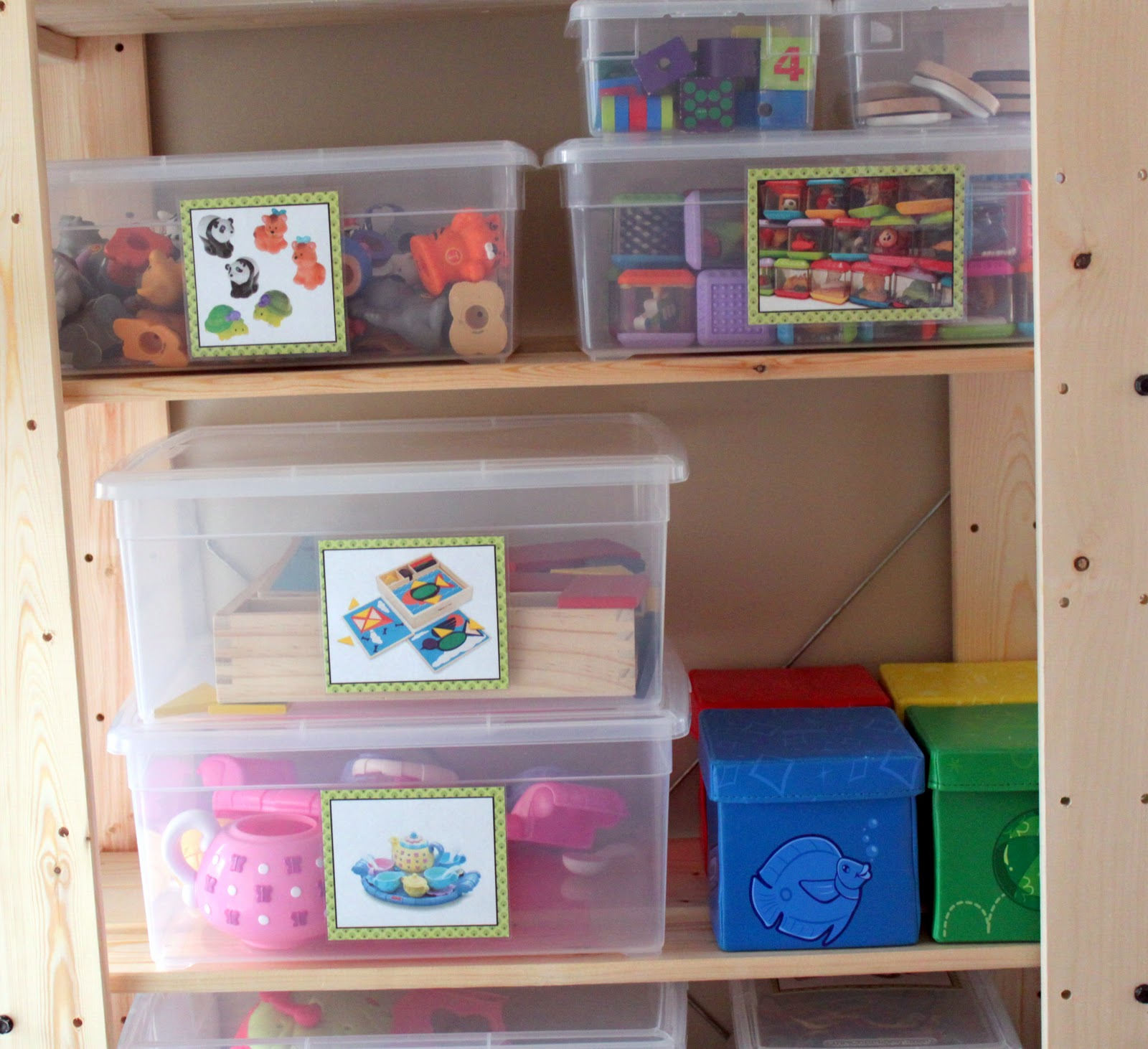 Operation Organization Velcro Toy Storage Labels The Cottage Mama