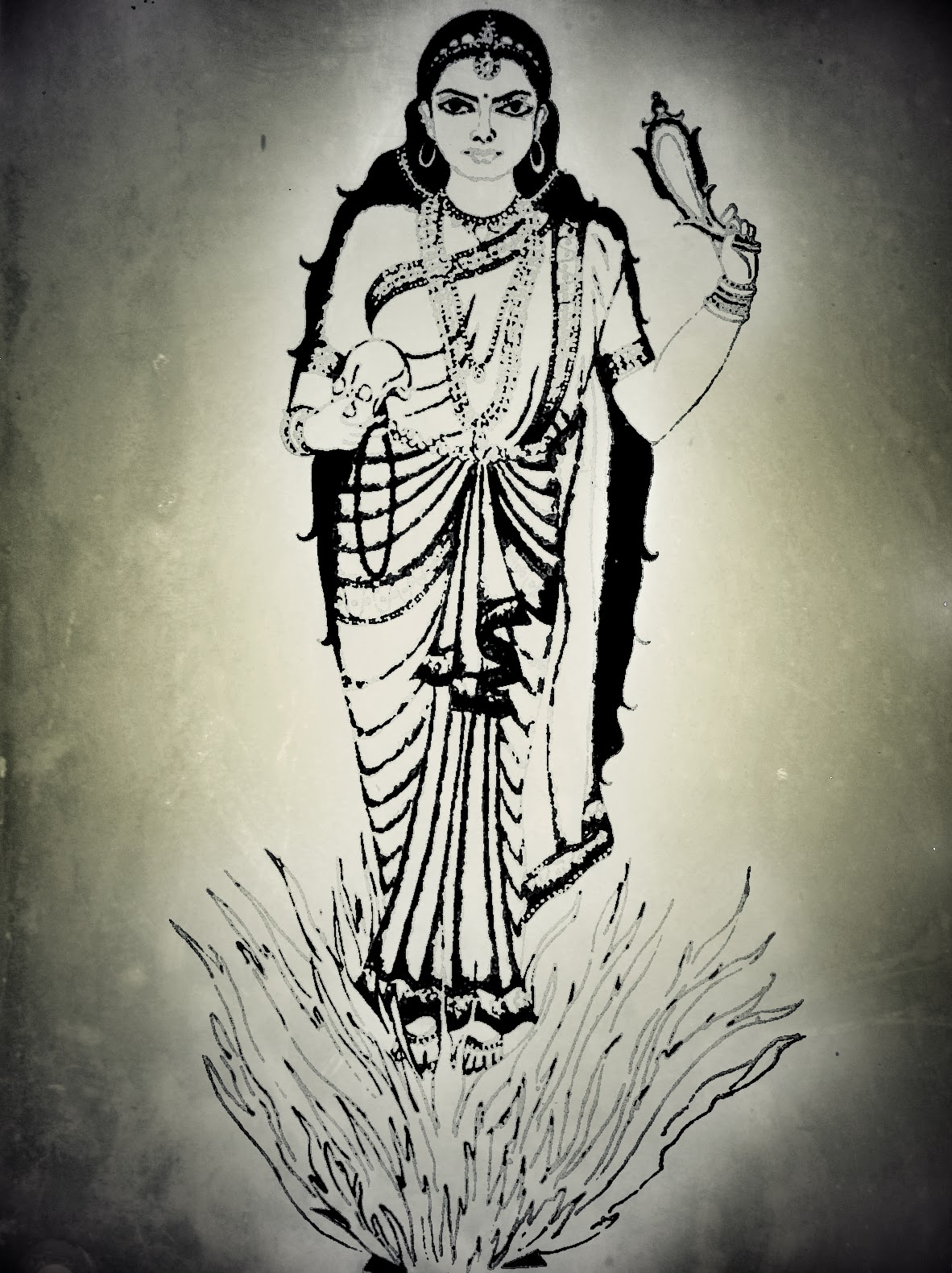 Apsara Drawing ...