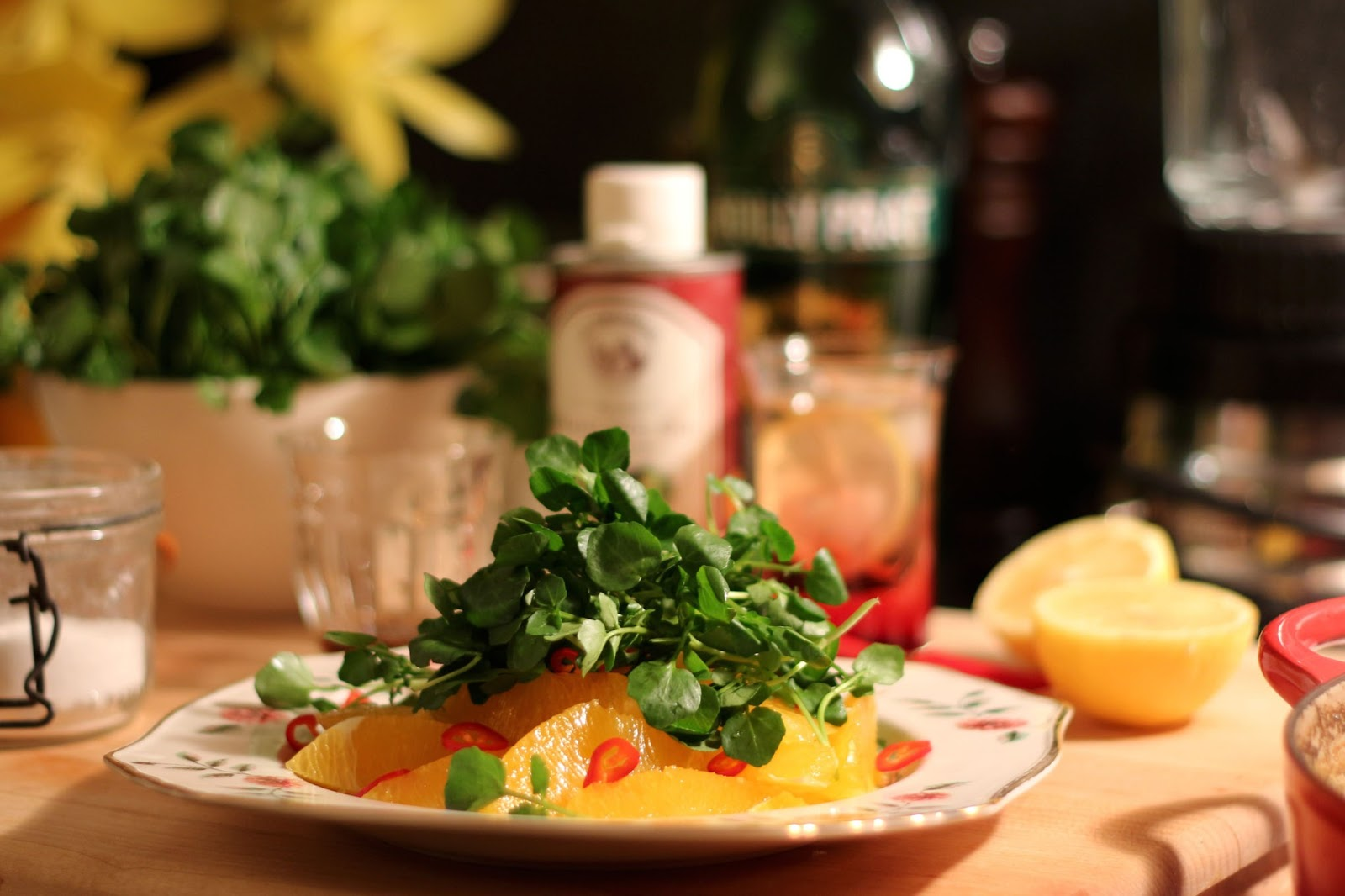 Watercress, Pink Grapefruit, And Walnut Salad Recipes — Dishmaps