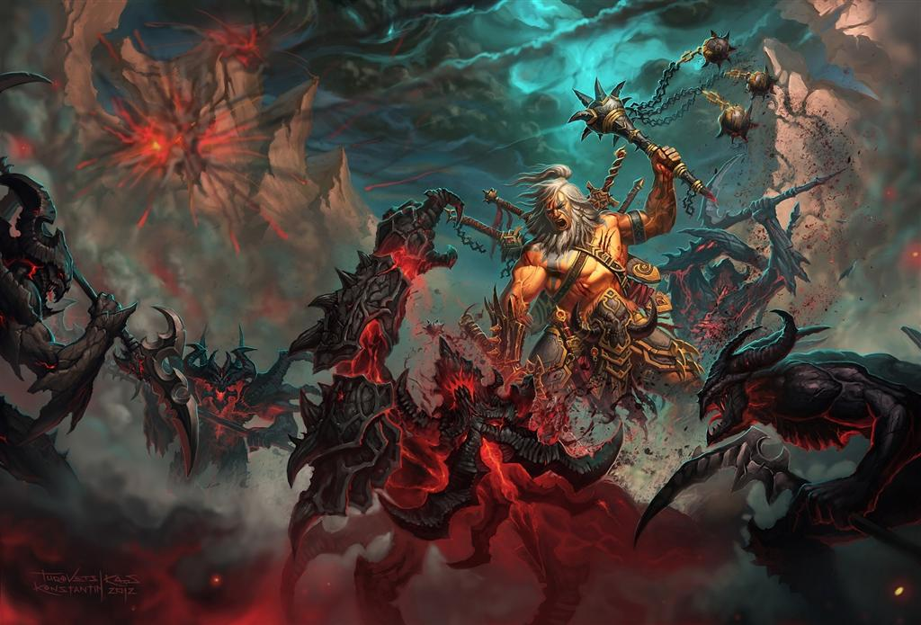 Diablo HD & Widescreen Wallpaper 0.130790033194345