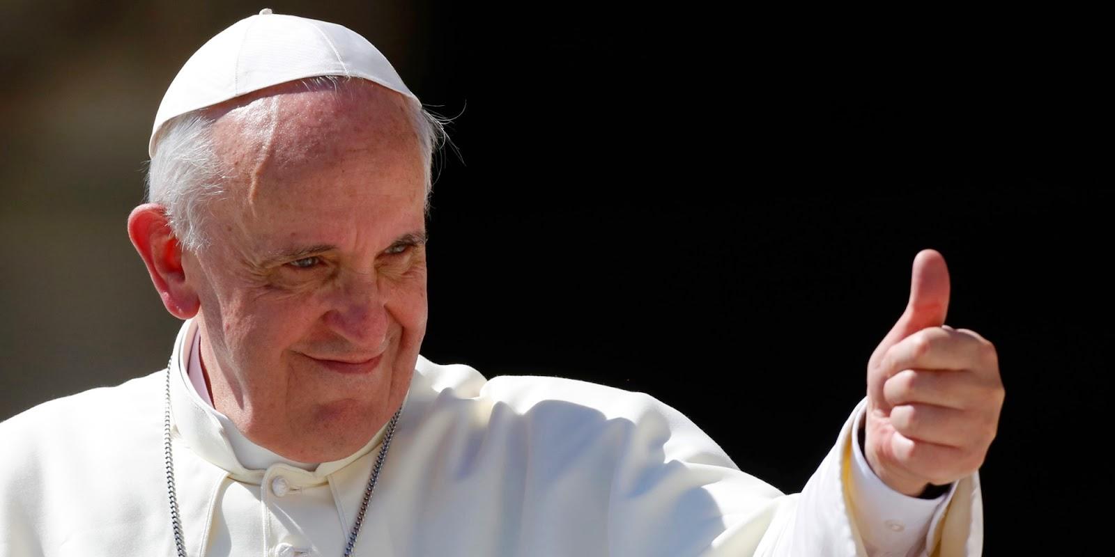 Los 10 consejos del Papa Francisco para ser feliz