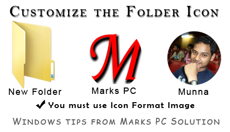 Use Custom Icon in Folder