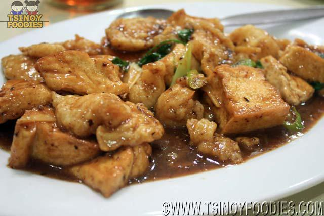 tofu tausi fish fillet