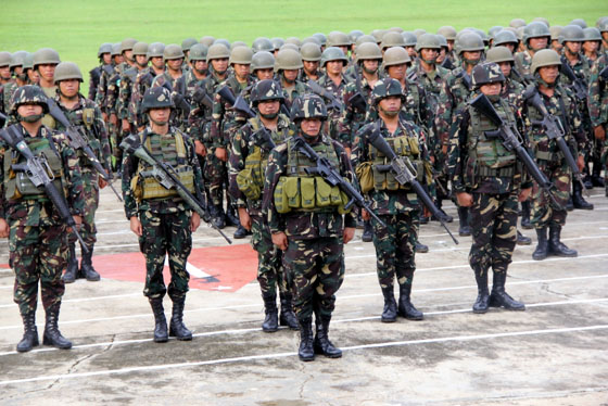 Retired analyst army battalion begins retraining in for Bureau zamboanga