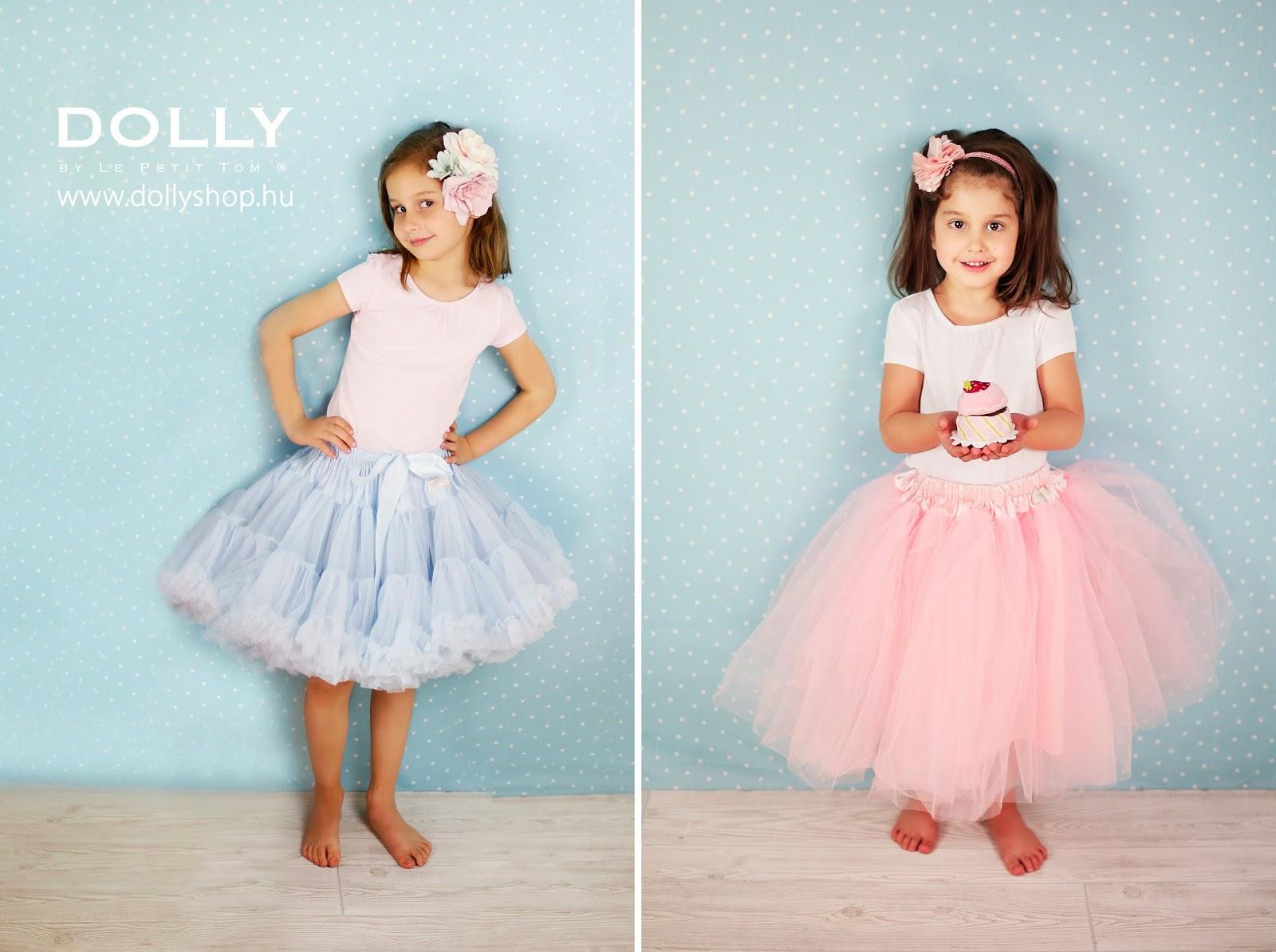 Dolly tüllszoknya kislányoknak