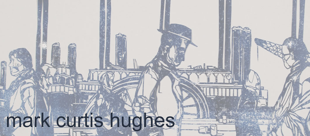 Mark Curtis Hughes: artist teacher- drawing, print, papercut