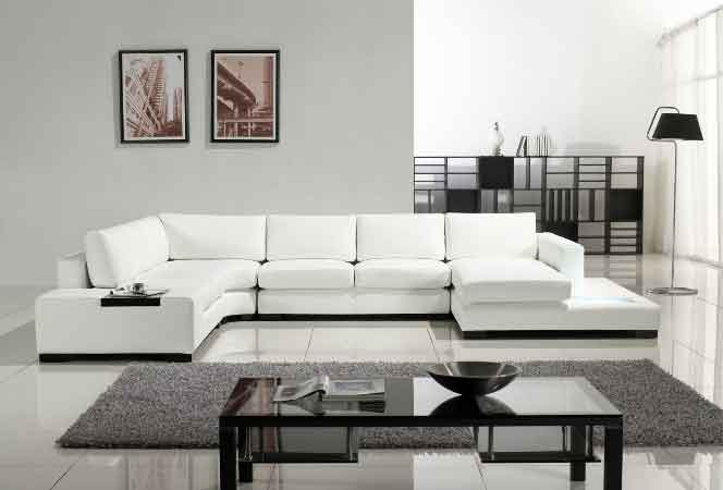 armless leather sofa bed