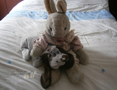 favourite childhood toys poundpuppies and rabbit dog