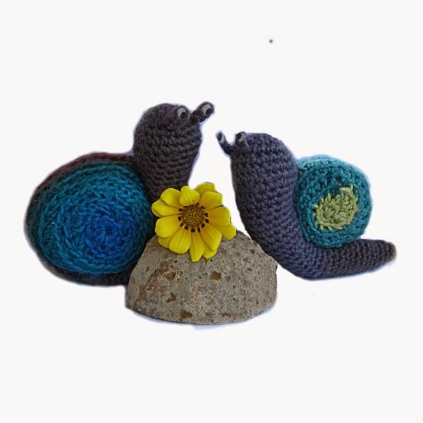 Free Amigurumi Crochet Snail Pattern
