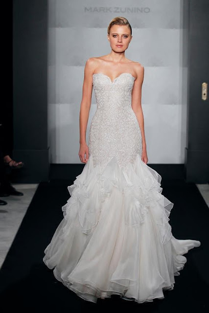 Mark Zunino Bridal 2013 Spring Collection