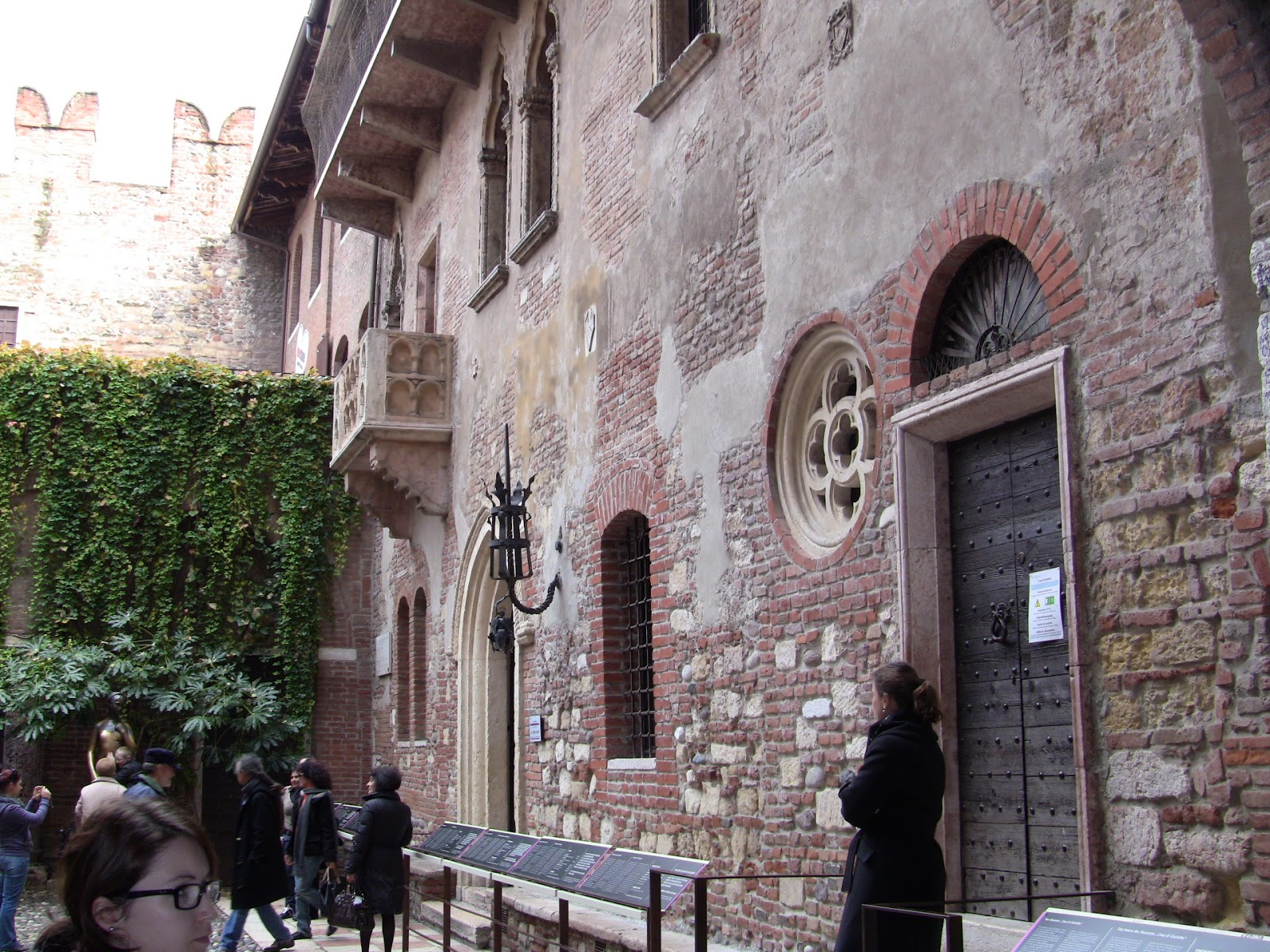 Juliet's house? Photo: Gail Keller, WineTrekkerTV.com.