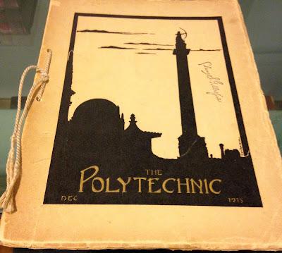 photo of Polytechnic Dec 1915 yearbook